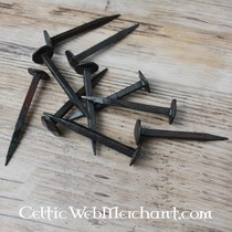 SPQR Viking coltello Visby, acciaio Damasco