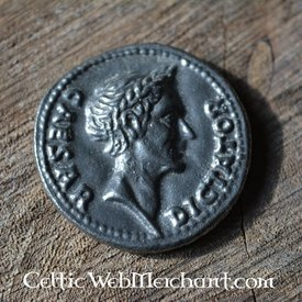 Romersk mønt Cæsar