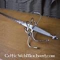 Espada ropera con hoja flamígera