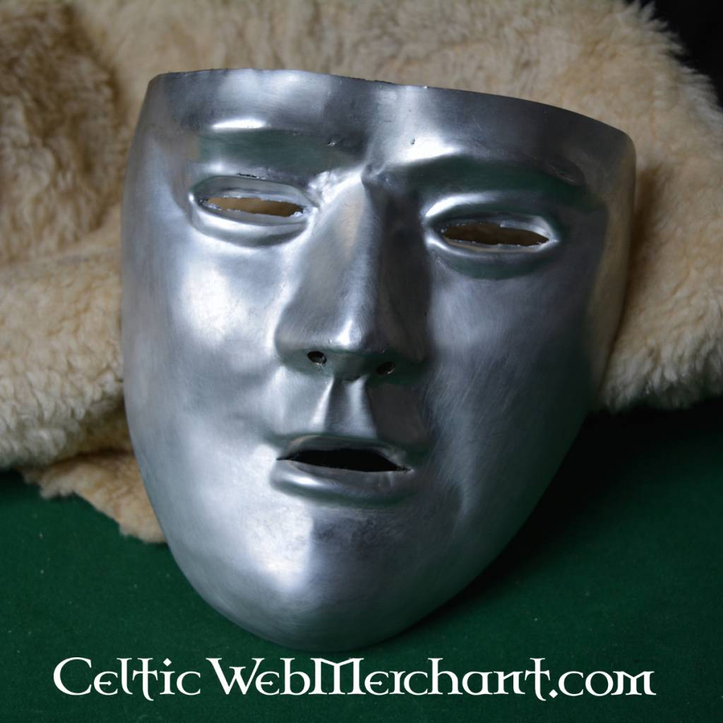 masque facial en metal