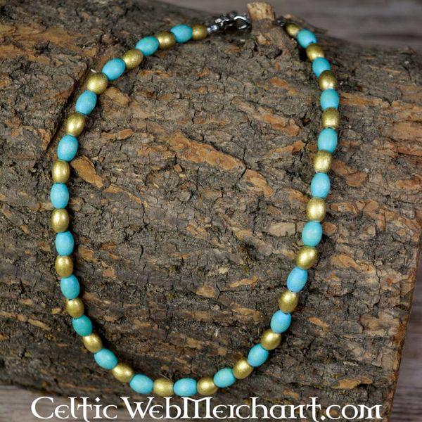 Greek-Egyptian bead necklace