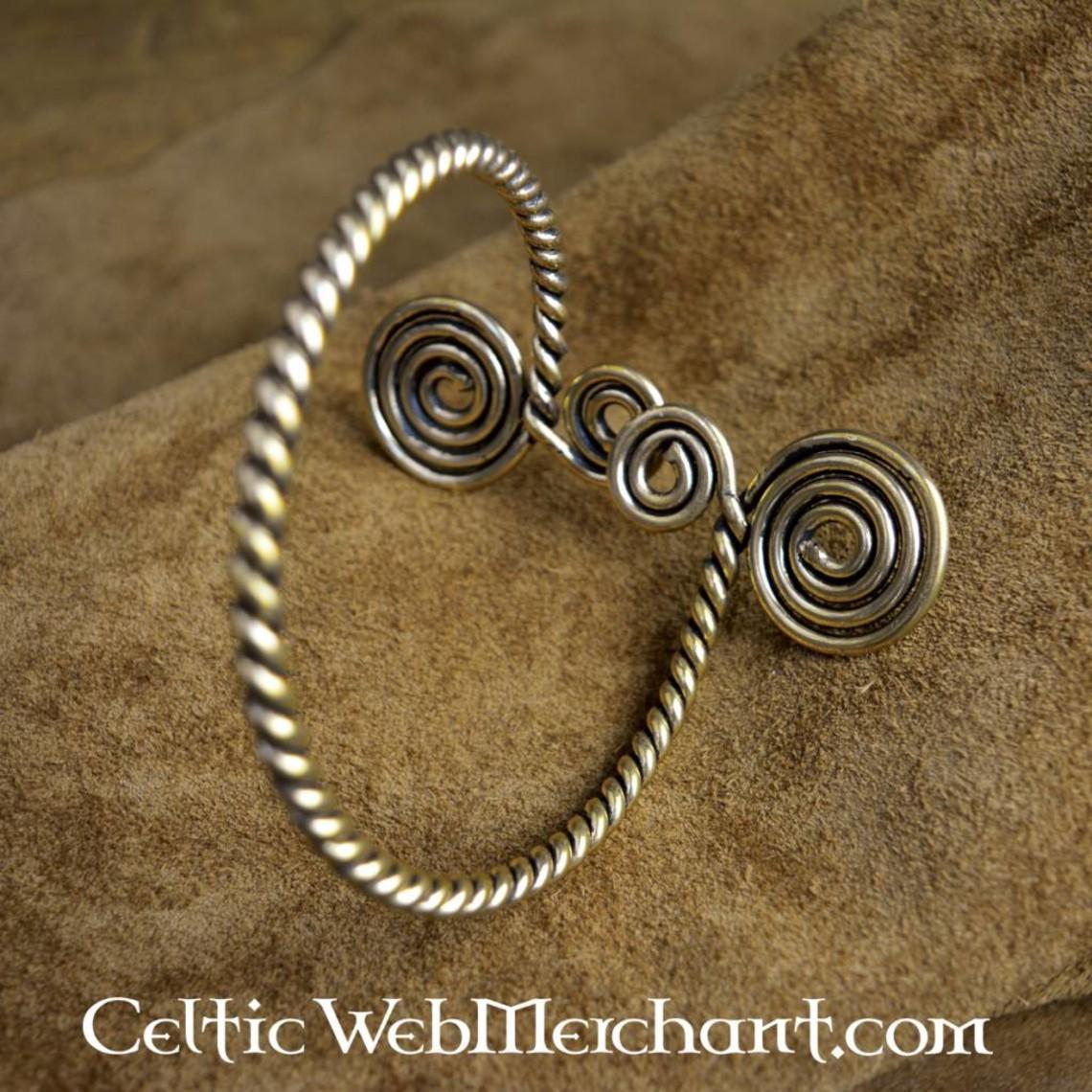 Celtic oberer Armband mit Spiralen