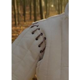 Długi przeszywanica z odpinanymi rękawami