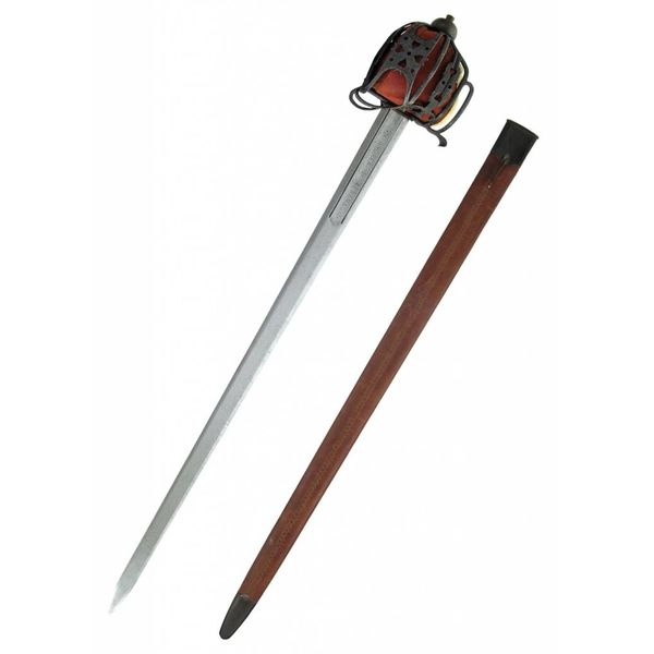 CAS Hanwei Basket hilted broadsword antique