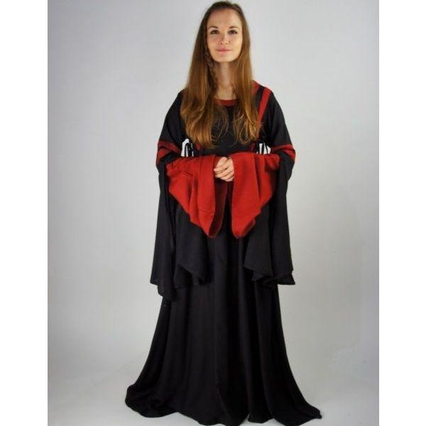 Leonardo Carbone Kjole Douze sort-rød