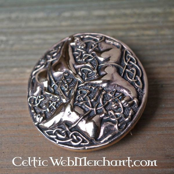 Celtic Epona brooch