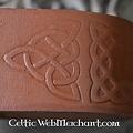 Leonardo Carbone Róg zrobić uchwyt picia z węzłów celtyckich