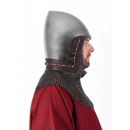 14. Jahrhundert Bascinet mit Kettenhemd Helmbrünne