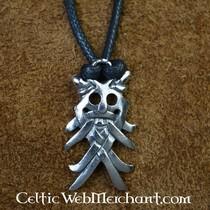 10. wieku Viking kruk wisior z brązu