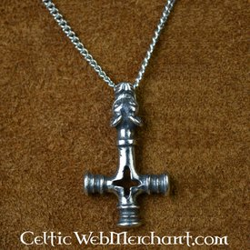 Iceland Thor's hammer pewter