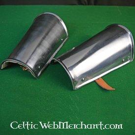 Marshal Historical Canons d'avant bras (brassards), en acier