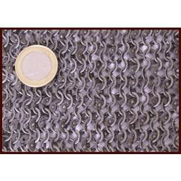 Kettenhemd Mischringe 6 mm