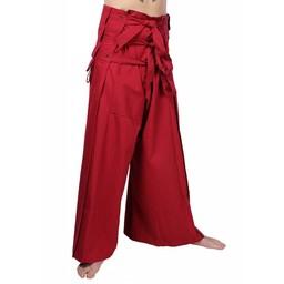 Samurai trousers, red