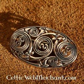 Pictic brooche mit Spiralen