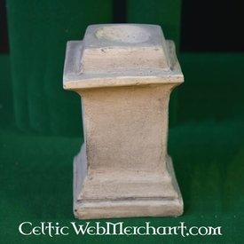 columna quadrado para altar casa romana