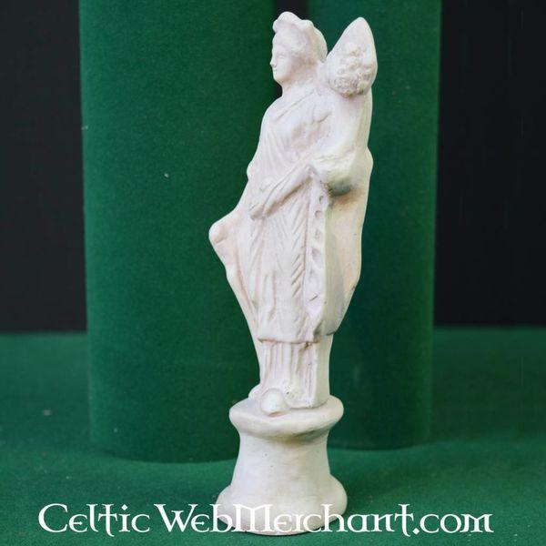 Roman votive statue goddess Fortuna