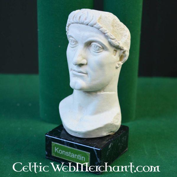 imperador Bust Constantino, o Grande