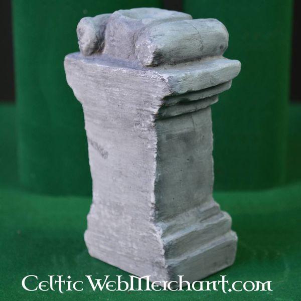 Colonne pouraltar romain (autel de maison)