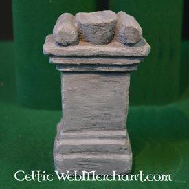 Columna para altar casa romana