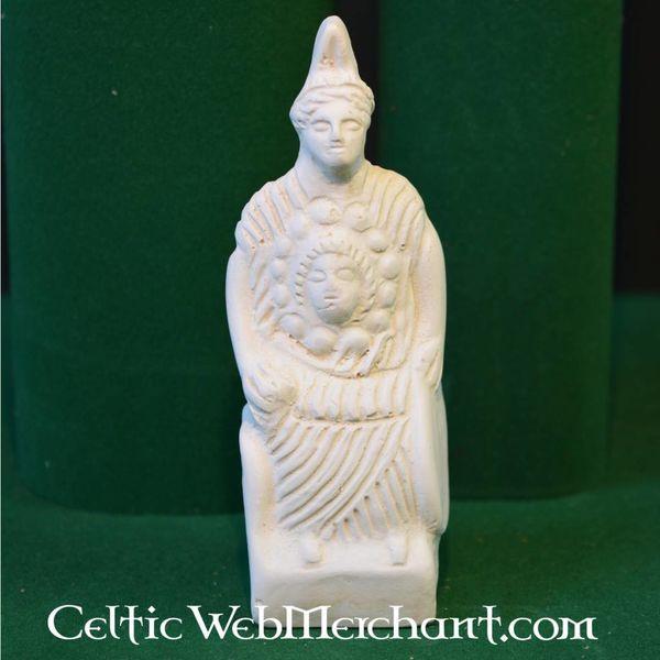 Votivo Romano estatua diosa Minerva