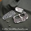 accessoires de ceinture argent Gokstad