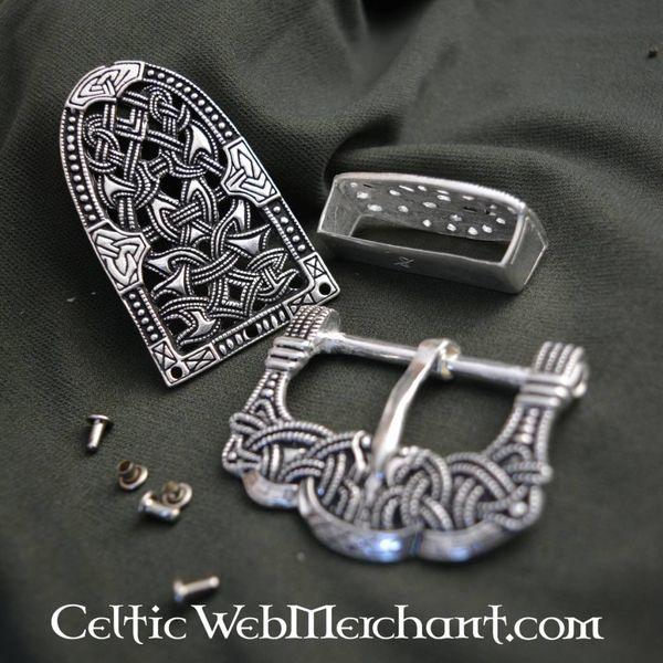 Gokstad bæltedekoration sølv