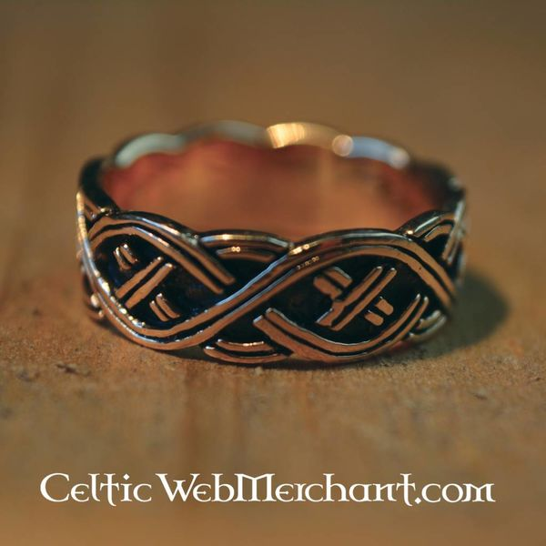 Bronzen Normandische ring