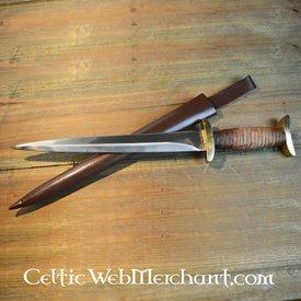 Marshal Historical punhal cruzado do século 12