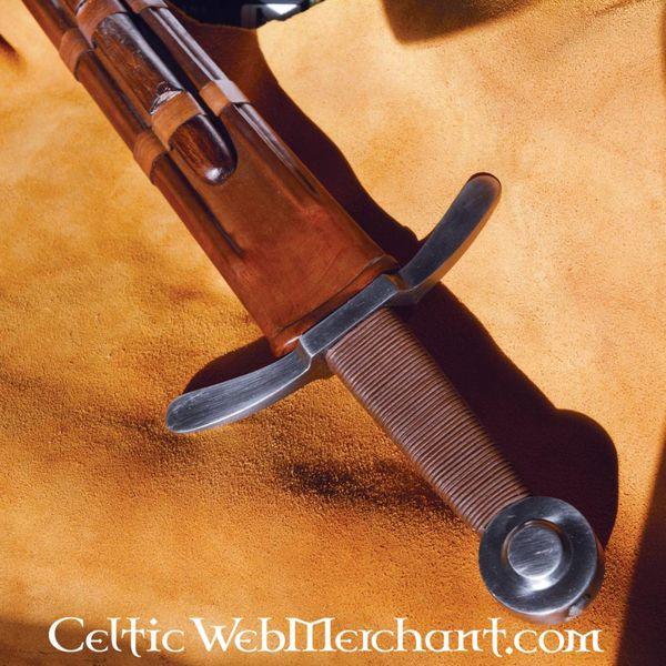 Deepeeka Medieval korsfarer sværd, kamp-klar