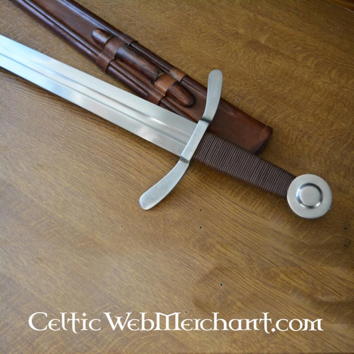 Deepeeka Medievale crociato Spada, battaglia-ready