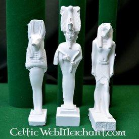 Egyptiska guden familj: Isis, Anubis och Osiris