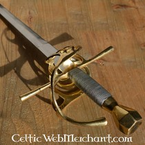 Marshal Historical Chape for rapier scabbard small