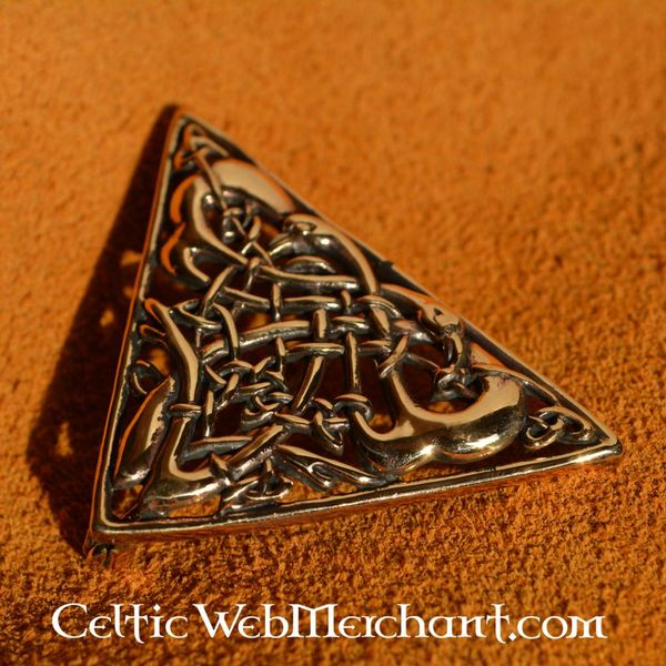 Insular Celtic Brosche Book of Kells