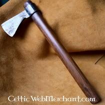 Riem met ringsluiting, Keltische knopen, bruin