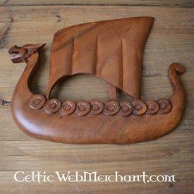 Drewniane Viking Drakkar