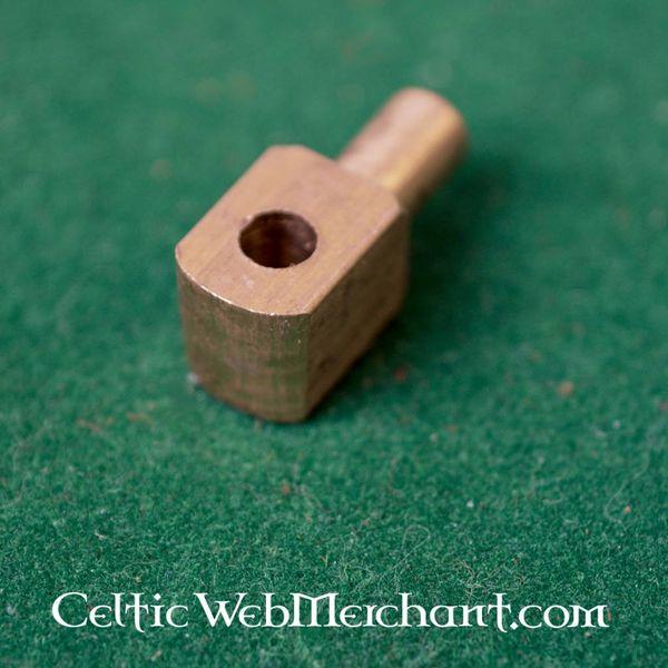 Vervelle, épingles de cuivre pour bassinet ou l'armure, livrés à la douzaine