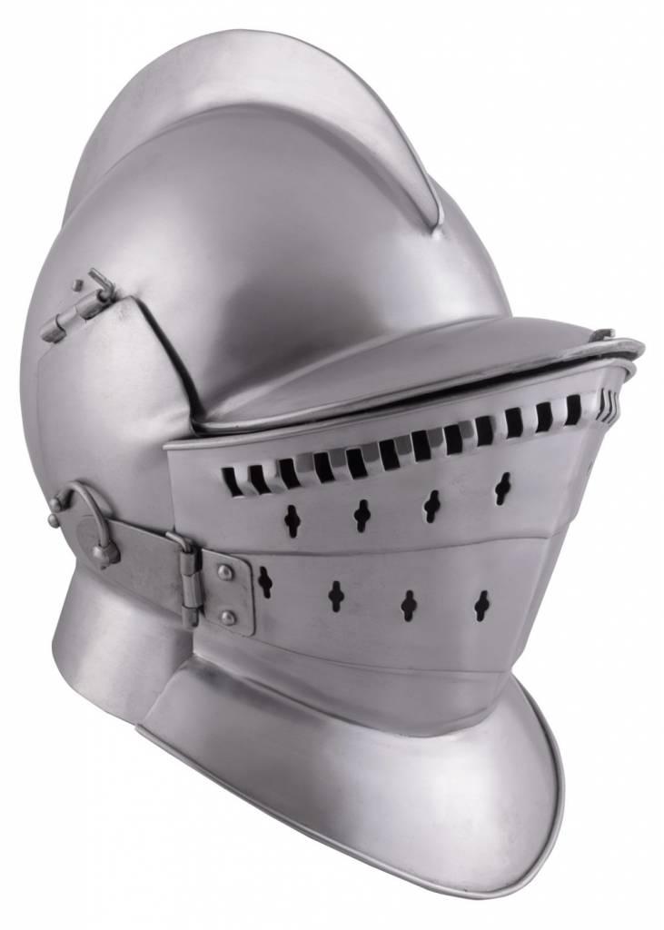 Burgonet with 3-part visor