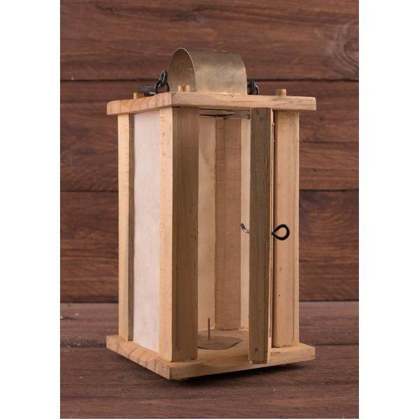 Ulfberth Lanterna di legno con finestre pergamena