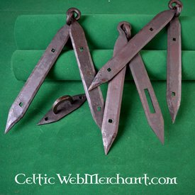 Ulfberth Garnitures de coffres Viking (2 charnières & 1 moraillon)