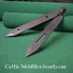 Viking Brust Einrichtungen (2 Scharnier & 1 Haspe)