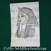 Papirus barwiących maski płyta śmierć tut Anch Amon
