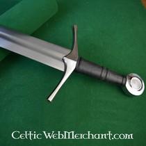Epée médiévale patinée d'entraînement