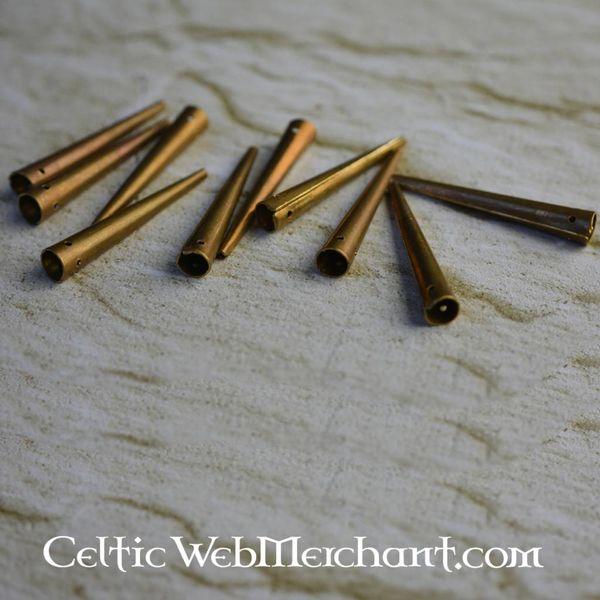 Lace-ends, 10 pieces
