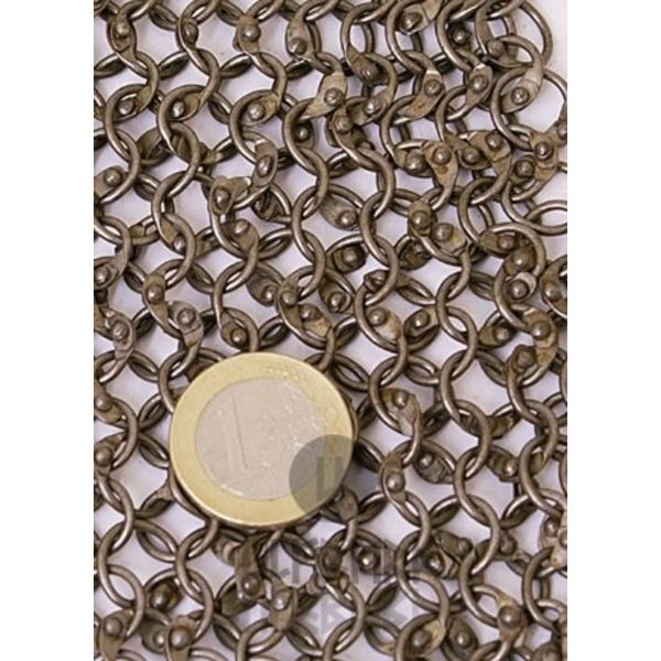 Ulfberth Manto del Obispo remachado anillos circulares