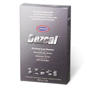 Urnex Dezcal ontkalker 4 x 28 gram poeder