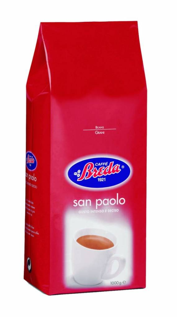 Caffé Breda San Paulo bonen 1 kg. vanaf € 12.95