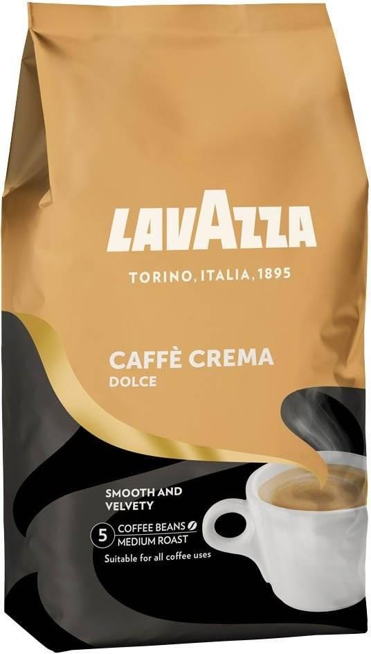 Lavazza Dolce Caffè crema bonen 1 kg. vanaf € 9.95