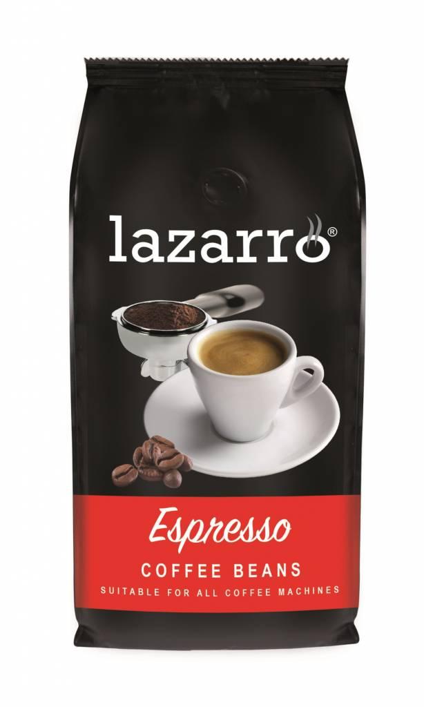 Lazarro Espresso bonen 1 kg. vanaf € 5.95