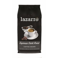 Lazarro Espresso Dark Roast bonen 1 kg.