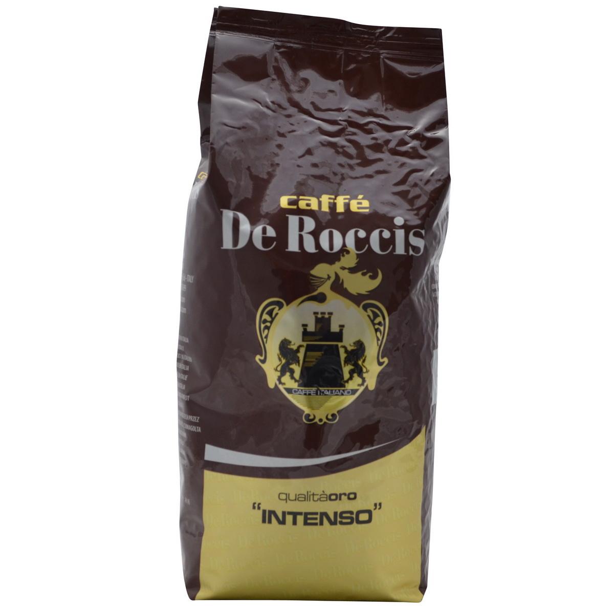 De Roccis Qualità Oro Intenso  bonen 1 kg.nu vanaf € 5.25